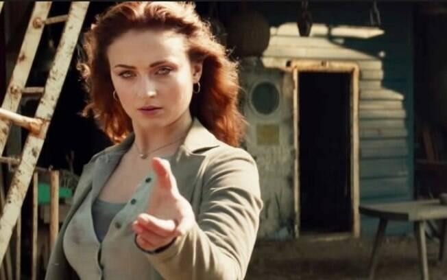Sophie Turner interpreta a própria Fênix em