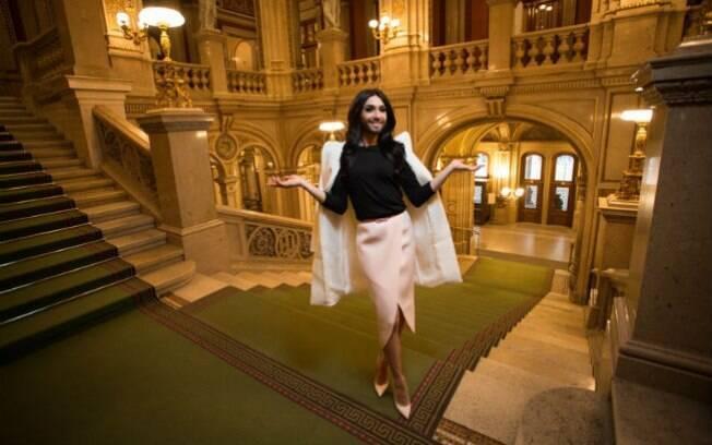 Conchita Wurst em Viena