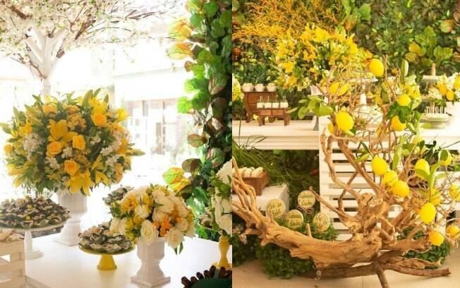 Chá de bebê de Sabrina Sato: os arranjos florais foram um dos principais recursos utilizados para decorar o evento