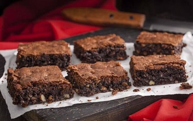 O brownie é uma receita fácil e deliciosa de fazer