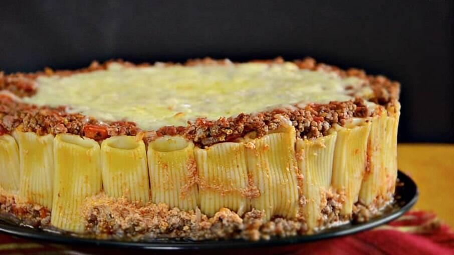 Aprenda a fazer uma torta rigatoni deliciosa