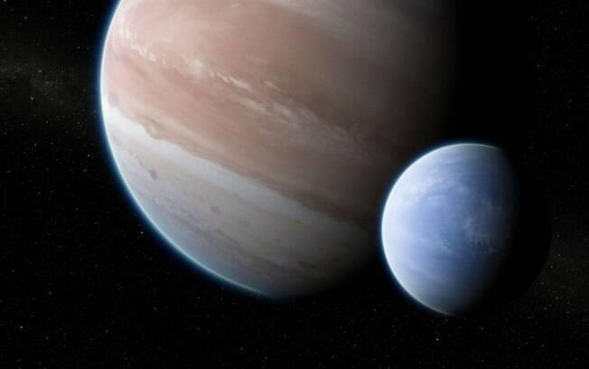 A primeira lua fora do Sistema Solar, do tamanho e Netuno, pode ter sido encontrada pelos telescópios Kepler e Hubble