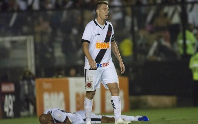 Maxi Lopez rescindiu seu contrato e não jogará mais pelo Vasco.