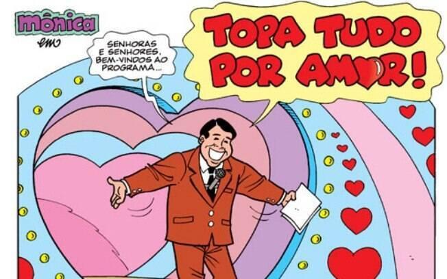 Famosos que viraram obra de Mauricio de Sousa e fizerem parte dos quadrinhos da Turma da Mônica