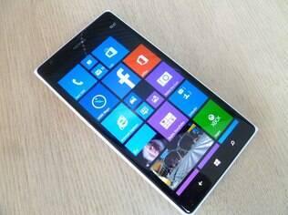Lumia 1520 é smartphone topo de linha da Nokia