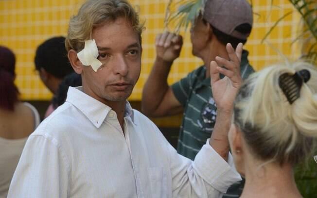 Luciano Paulo dos Santos foi uma das vítimas do desabamento no Rio