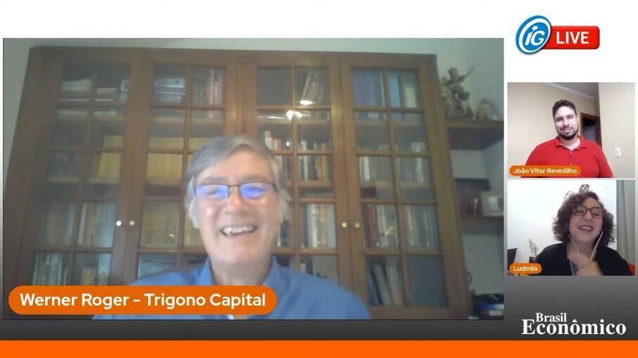 Werner Roger foi o entrevistado do Brasil Econômico ao vivo desta quinta-feira (25).