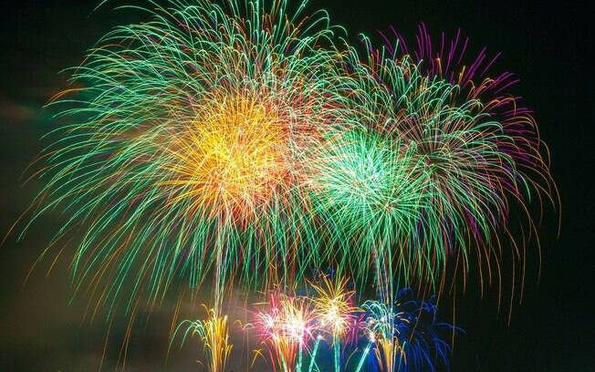 Fogos de artifício ainda poderão ser utilizados nas festas de fim de ano de 2019