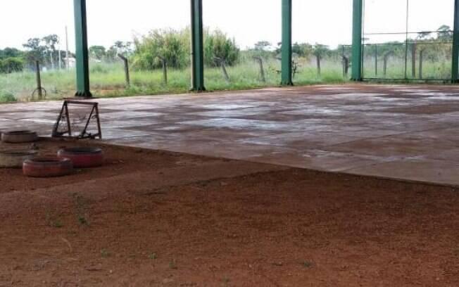 Horário no Centro de Ensino 7 de Brazlândia (DF) era integral até o ano passado, mas o sistema parou de funcionar porfalta de infraestrutura