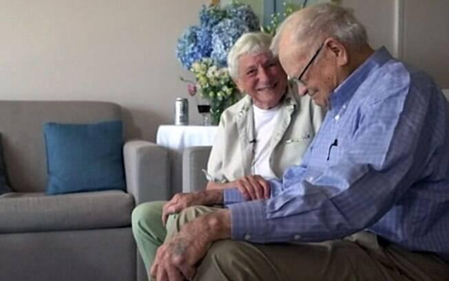 Norwood Thomas e Joyce Morris se reencontraram após 70 anos