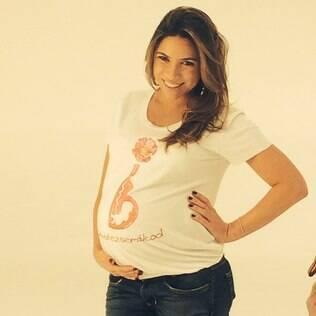 Grávida Patricia Abravanel gravou para a campanha #GravidezSemÁlcool contra a Síndrome Alcoólica Fetal (SAF)