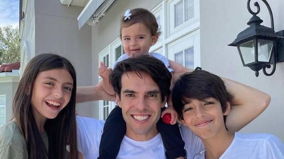 Filhos de Kaká e Celico pegaram Covid-19