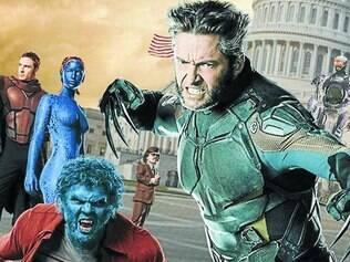 """Enredo.  Filme reúne os personagens do último filme da trilogia dos X–Men com os jovens mutantes do longa """"Primeira Classe"""""""