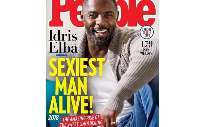 Idris Elba é eleito o homem mais sexy do mundo pela People
