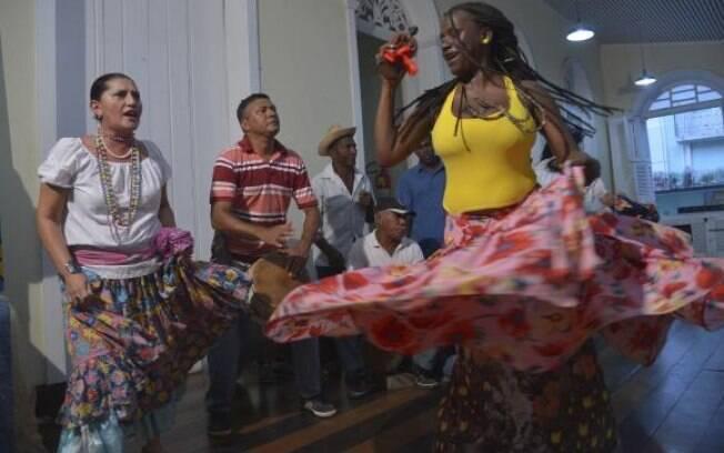 Tambor de Crioula é uma das atrações do carnaval do Maranhão