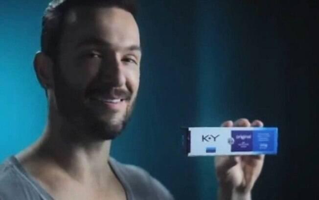 Diego Hypólito seria garoto-propaganda da marca de lubrificantes K-Y