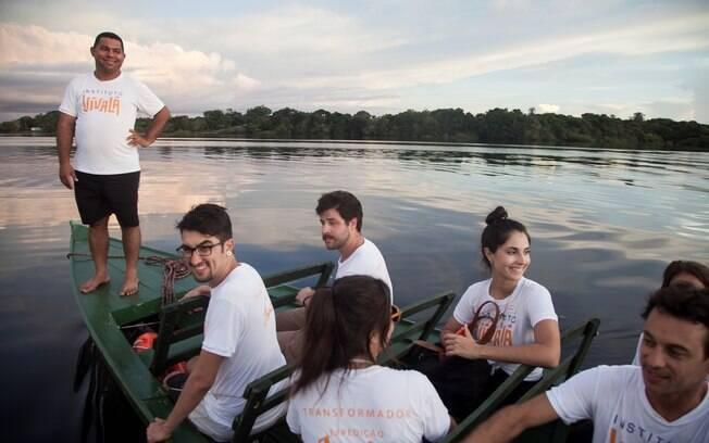 Existem muitos projetos no Brasil para quem quer vivenciar o volunturismo, e um deles é feito na Amazonas