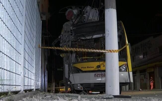 Motorista do ônibus se recusou a fazer teste de embriaguez