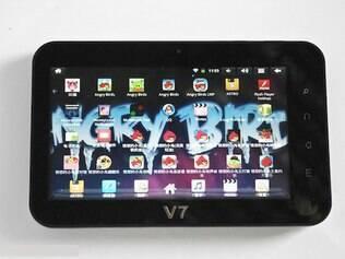 Tablet, não oficial, criado para fãs do Angry Birds