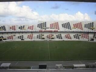 Estádio do Arruda deve ficar assim: vazio, vazio...