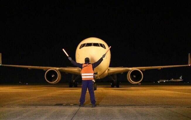 Oitavo lote da vacina Pfizer chega no Aeroporto de Viracopos