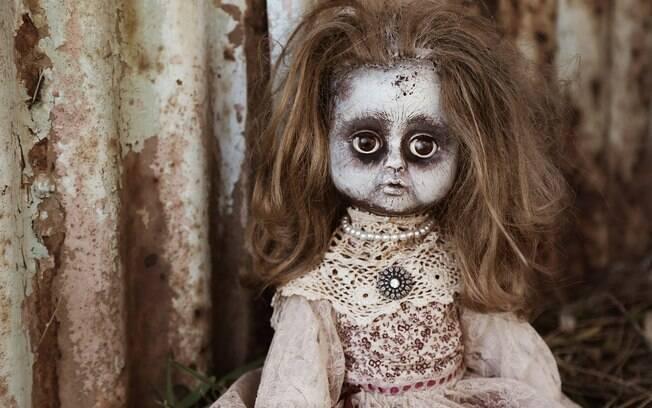 Depois de ser vendida, parece que a boneca