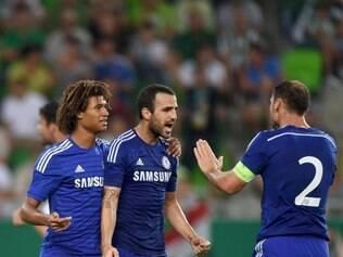 Fàbregas foi o autor do segundo gol do Chelsea, que decretou vitória inglesa no jogo