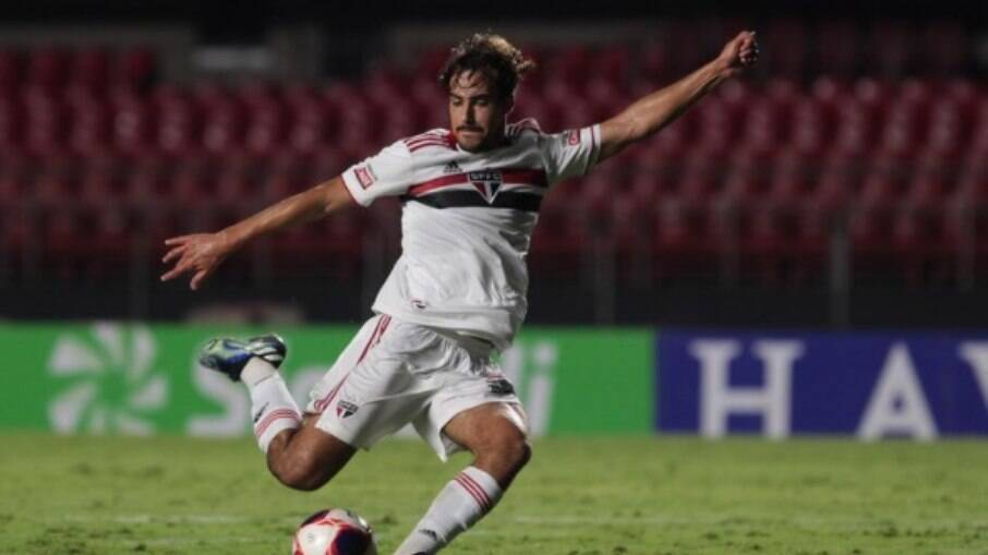 Igor Gomes marcou um dos gols da vitória do São Paulo