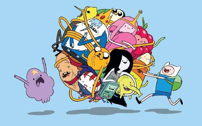 Adventure Time desenho da Cartoon Network