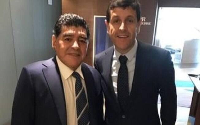 Maradona e Ceci