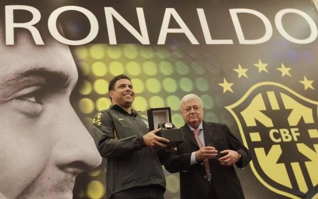 Ricardo Teixeira e Ronaldo