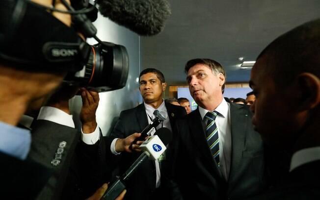 Jair Bolsonaro voltou a declarar apoio a Juan Gauidó na Venezuela