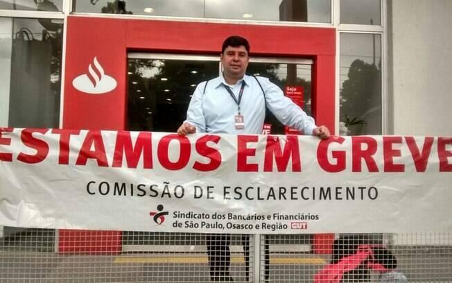 Greve organizada pelo Sindicato dos Bancários fechou agências na Grande São Paulo