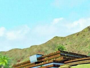 Para integração de prédio à serra do Curral, aço corten será usado