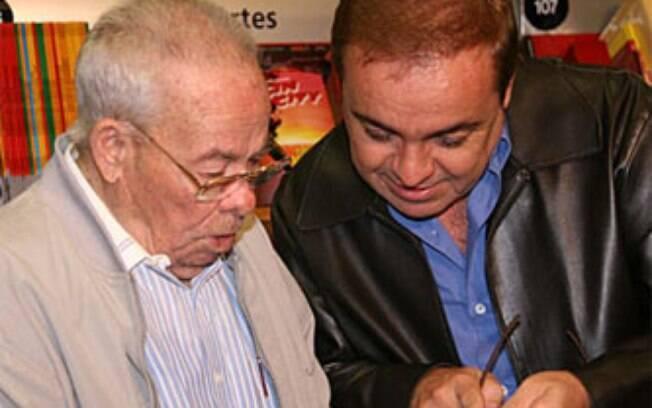 Gugu Liberato e seu pai