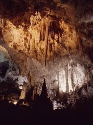 Cavernas de Carslbad se escondem sob o deserto