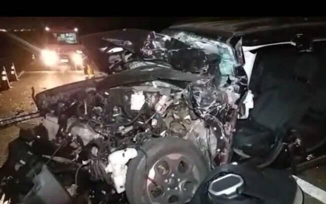 Acidente grave deixa quatro pessoas feridas em Santa Bárbara