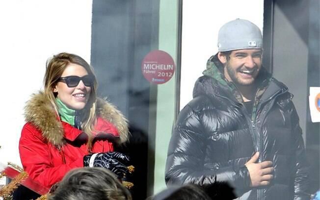 Alexandre Pato e Barbara Berlusconi: romance nas montanhas