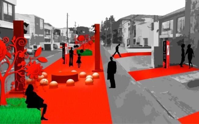 Atividades de entretenimento serão distribuídas a cada 40 metros da alameda
