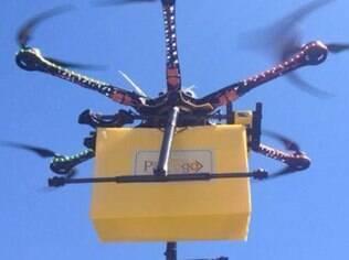Padaria no interior de São Paulo começa a utilizar drones para entregas
