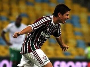 Conca comemora segundo gol anotado na vitória do Tricolor