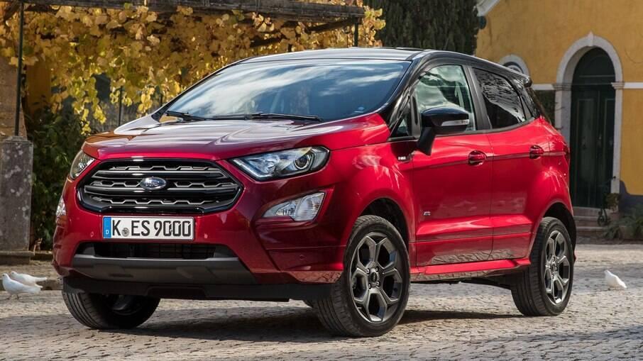 Ford EcoSport ST-Line:  com certo apelo esportivo, versão tem as rodas da Storm que foi vendida no Brasil