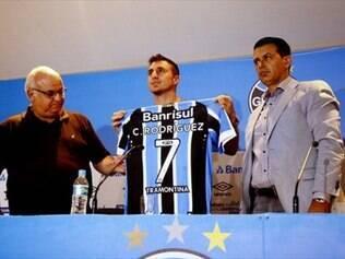 Cristian vestirá a camisa 7, eternizada por Renato Gaúcho