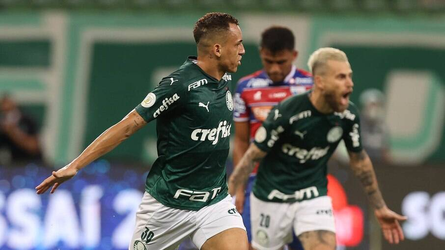 Palmeiras venceu o Fortaleza com facilidade
