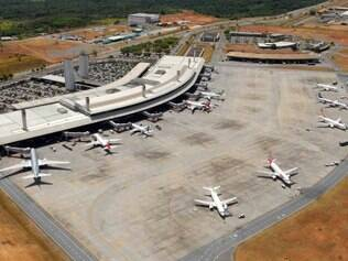 O Aeroporto de Confins, na região metropolitana de Belo Horizonte, é um dos locais que irão receber reforço na fiscalização
