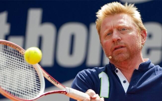 Boris Becker respondeu as críticas