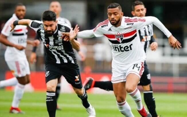 São Paulo e Ceará duelaram no estádio do Morumbi pelo Brasileirão