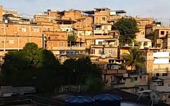 Complexo do Alemão, na Zona Norte do Rio