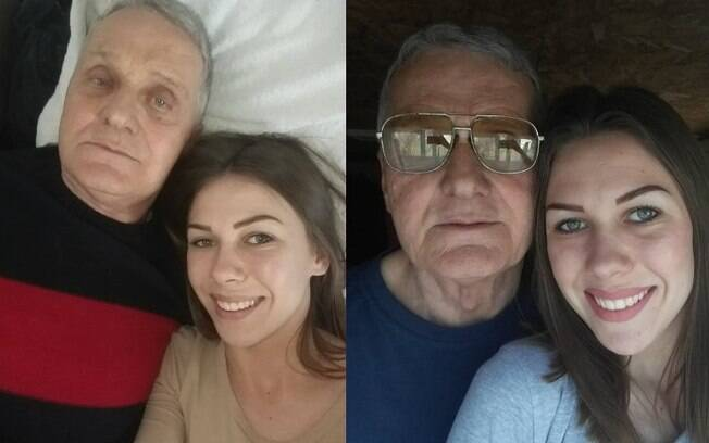 Milijana tem 21 anos e, seu noivo, 74. Isso não impede que o casal tenha uma vida sexual ativa – e não precisa de Viagra