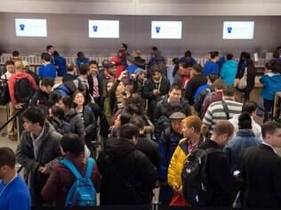 Lançamento do iPad Air movimentou lojas da Apple no início deste mês
